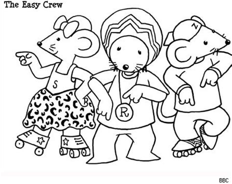 coloring pages rastamouse rastamouse print and colour