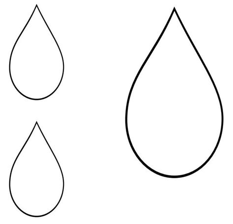Teardrop Template printable teardrop template 21 teardrop template ideas