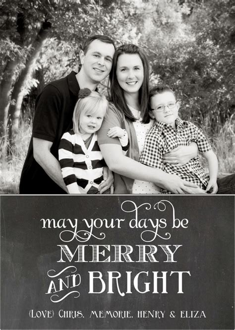 Family Portrait Card Template by Black And White Family Cards Www Pixshark