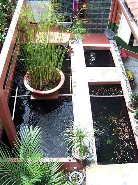 ide desain kolam ikan minimalis modern  opsgarden   patio plants patio layout