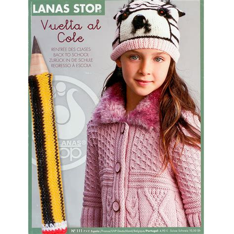 Knitting Pattern Books In Spanish | buy lanas stop childrens knitting pattern book 111 online