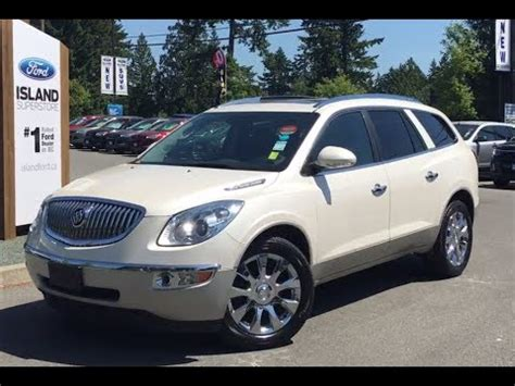 2011 buick enclave photo gallery truck trend 2011 buick enclave cxl 2 heated cooled seats awd review island ford youtube