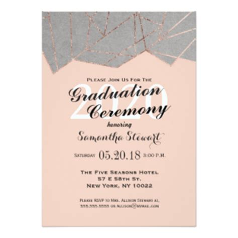 invitation letter to graduation ceremony gold foil graduation invitations announcements with impressive invitation letter sle for
