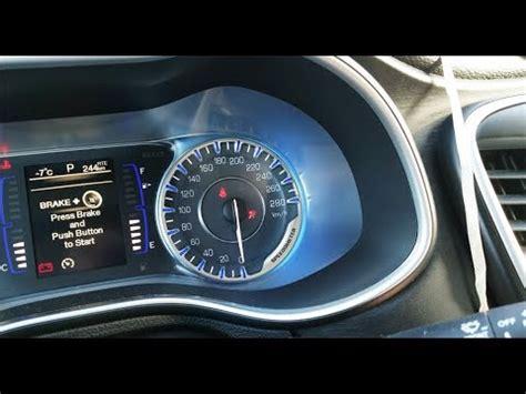 2015 2016 Chrysler 200 Service Airbag System Light How I