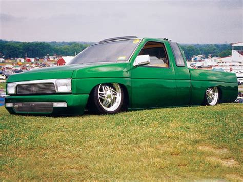 nissan pickup 1997 custom 1997 nissan king cab custom truck mini truckin magazine
