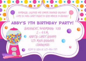 Birthday invites awesome birthday party invite example for people