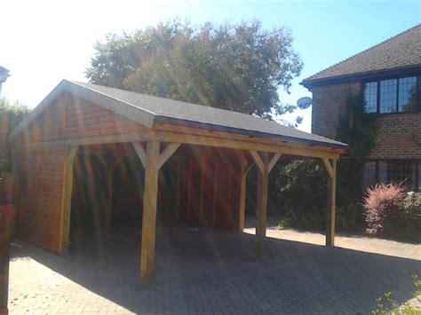 Apex Roof Construction Timber Garages Workshops Albatross Bakers Timber