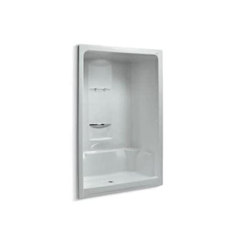 Home Depot Shower Stall by Kohler Sonata 60 In X 36 In X 90 In Shower Stall In