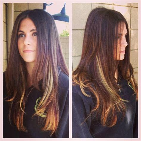 burgundy hair with caramel highlights light brown hair color caramel highlights hair color
