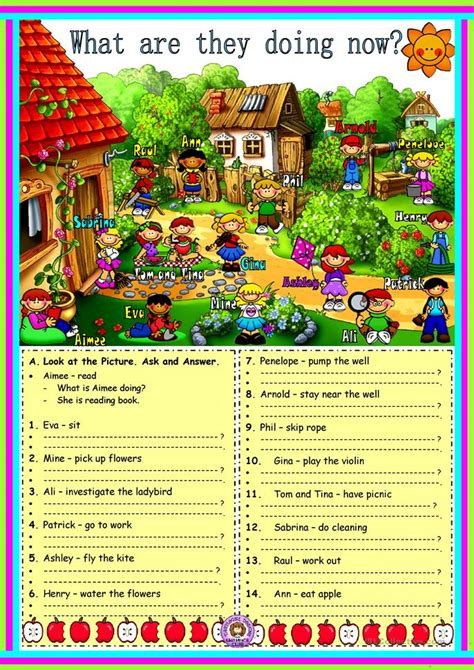 worksheet  esl printable