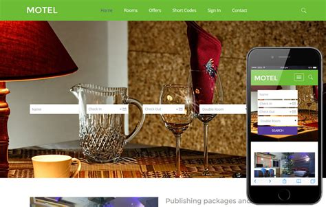 bootstrap templates for hotel booking free download motel a hotel category flat bootstrap responsive web