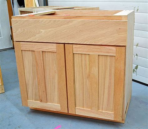 how to build kitchen cabinets step by step diy kitchen cabinets step by step woodworking plans