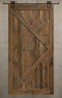 Where To Buy Sliding Barn Doors Reclaimed Sliding Barn Doors A Solid Design Statement