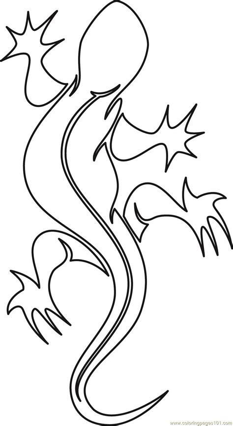 cute gecko coloring pages cute lizard coloring pages