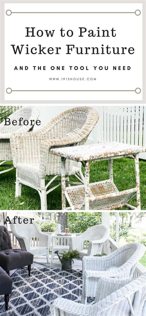 how to paint how to paint wicker furniture for a long lasting finish