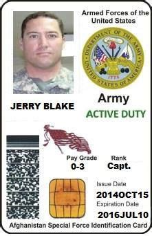 military dependent card military id template army brat
