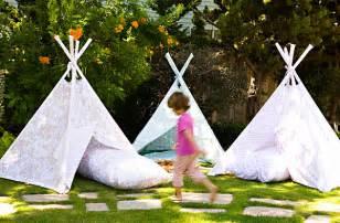 backyard teepee tent 20 colorful ideas