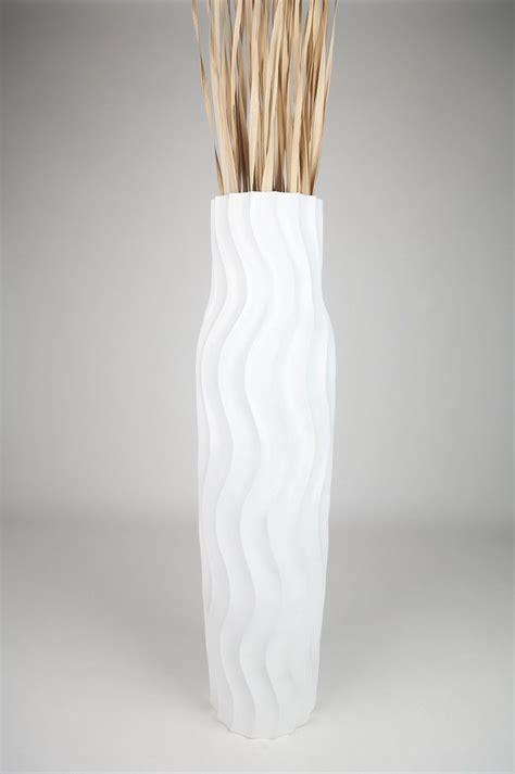 tall wooden floor l large floor vases distressed cream floor vase