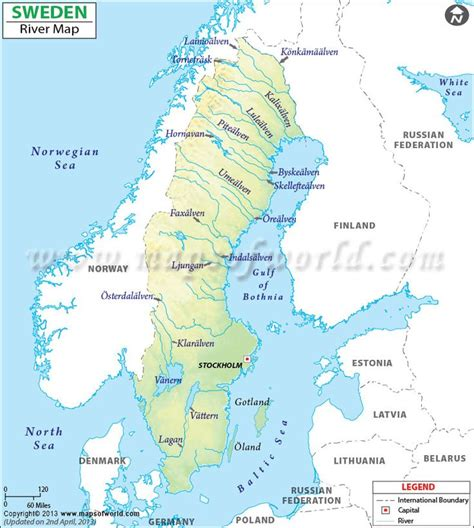 map of with rivers sweden river map river map of sweden major rivers and