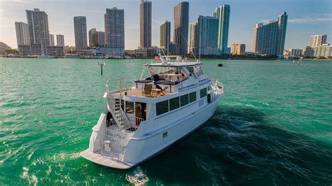 water fantaseas miami party yacht rental boat charters