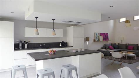 deco cuisine ouverte sur salon deco peinture cuisine ouverte sur salon cuisine id 233 es
