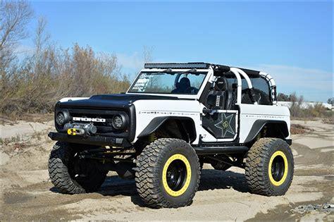 rockstar energy jeep rockstar bronco