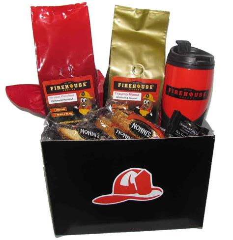 firefighter gift basket 171 java medic coffee