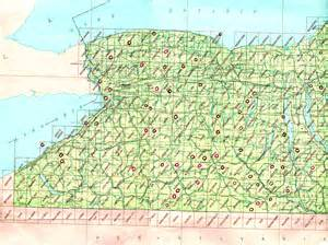 New York Topographic Map by Topographic Maps Finding Maps Map Collection