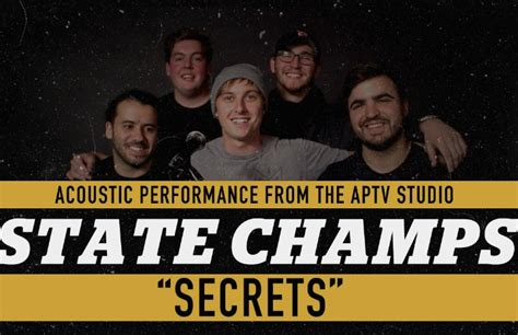 secret we the acoustic state chs aptv sessions secrets acoustic