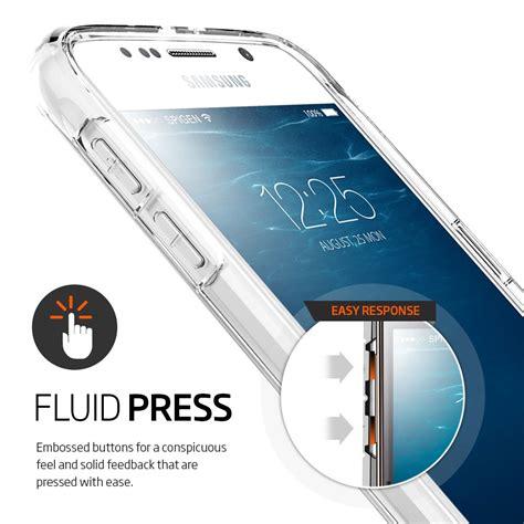 Spigen Ultra Hybrid Soft Cover Samsung Galaxy S6 Edge spigen ultra hybrid samsung galaxy s6 clear reviews