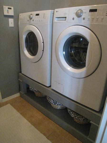 Washer And Dryer Pedestal Ideas washer dryer pedestal house ideas i got wood