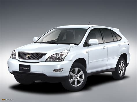 pictures of toyota harrier toyota harrier 2003 pictures 1280x960