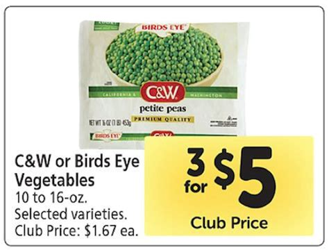 c w vegetables safeway c w vegetables only 17 cooked