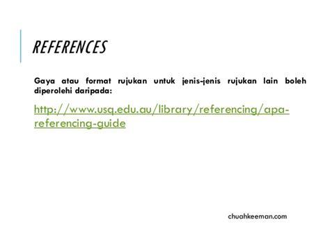 format apa laman web format apa panduan asas dan mudah