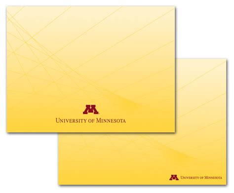 university of minnesota powerpoint template presentation