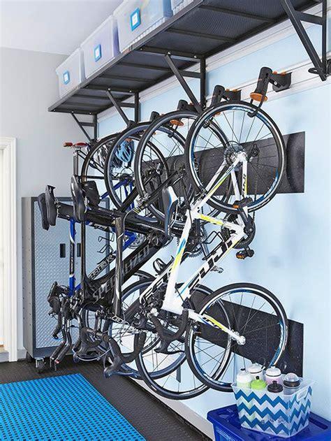 Garage Organization Bike Racks Best 25 Hanging Bike Rack Ideas On Garage