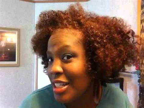cherrywood natural short hair part 3 hair color youtube