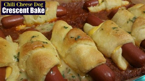 dogs in crescent rolls chili casserole crescent rolls
