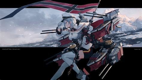ship class azur lane アズールレーン ティルピッツ 壁紙 tsundora