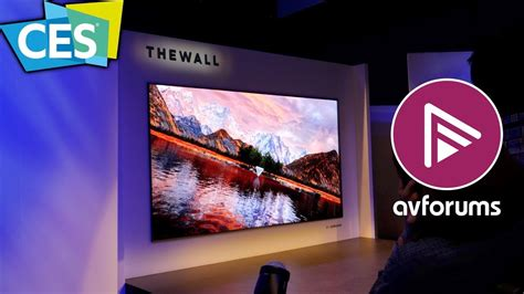 samsung 8k tv 146 quot the wall micro led q9s 8k tvs announced by samsung