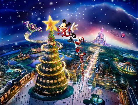 wallpaper christmas paris dedicated to dlp celebrating disneyland paris christmas