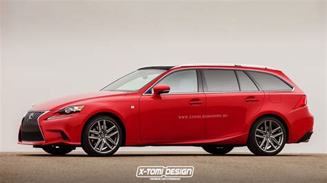 lexus wagon 2016 lexus is rendered in sport wagon guise autoevolution
