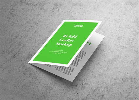 Bi Fold Brochure Paper - free a5 bi fold brochure leaflet mockup psd mockups