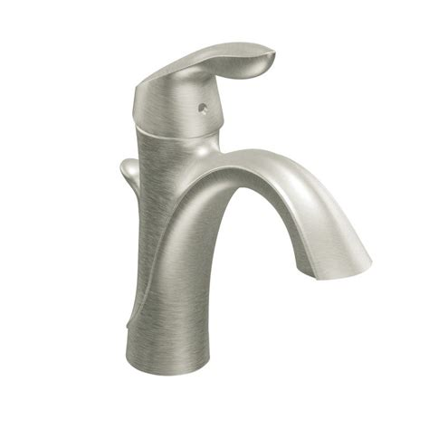 moen brushed nickel kitchen faucet faucet 6400bn in brushed nickel by moen