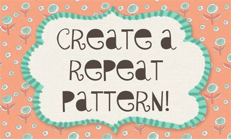 repeat pattern font let s create a repeat pattern in photoshop oh my handmade
