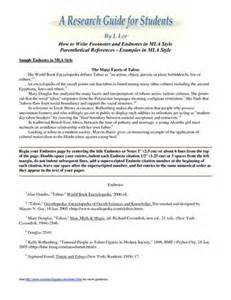 Footnotes And Endnotes In A Research Paper by What Are The Advantages Of Using Research Paper Footnotes