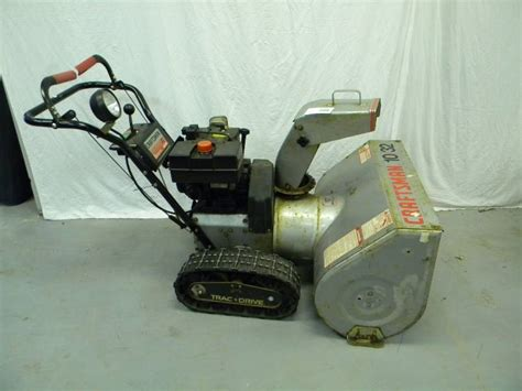 Manual Craftsman 8 5 Hp Snow Thrower 5hp 22 Ggettnv
