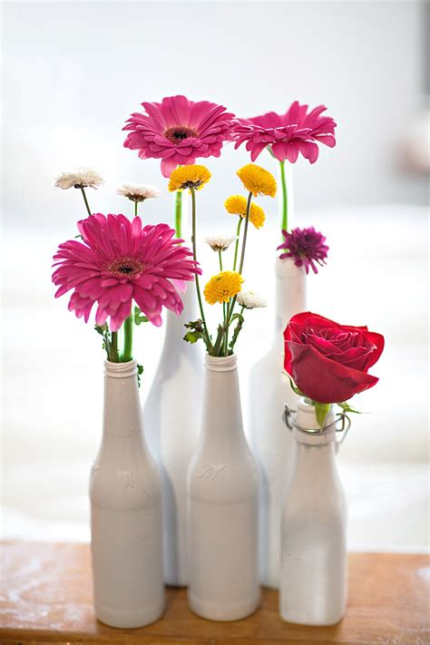 Spray Painted Vases by Spray Painted Vase Brit Co