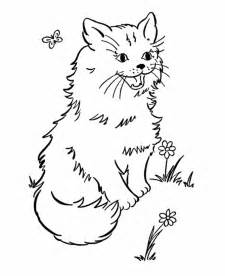 and cat coloring pages free printable cat coloring pages for