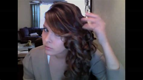 wedding hair how to hold curls in dominican republic side swept curls for long short hair youtube